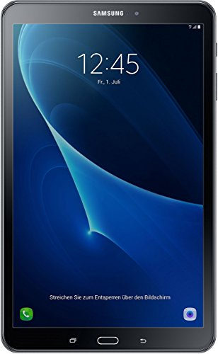 """Samsung Galaxy Tab A 10.1"""" Tablet, SM-T585 (schwarz)"""