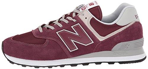 New Balance Herren 574v2 Core Sneaker, Rot (Burgundy), 44.5 EU Vergleichen  Sie die Preise bei PriceX.de