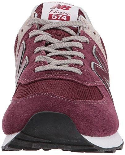 New Balance Herren 574v2 Core Sneaker, Rot (Burgundy), 41.5 EU Vergleichen  Sie die Preise bei PriceX.de