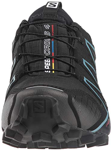 Salomon Damen Speedcross 4 GTX,Trailrunning Schuhe,Wasserdicht,Schwarz (BlackBlackMetallic Bubble Blue),Größe: 38 23 Vergleichen Sie die Preise bei