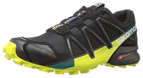 Salomon Speedcross 4,Herren Traillaufschuhe, SchwarzGelb,46 23 EU (11.5 UK) Vergleichen Sie die Preise bei