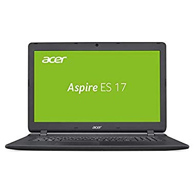 Acer Aspire ES 17 (ES1-732-P9EX) 43,9 cm (17,3 Zoll HD+) Multimedia Laptop (Intel Pentium N4200,8 GB RAM,256 GB SSD,Intel HD,Win 10 Home) schwarz