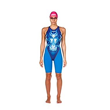 arena Damen Powerskin St 2.0 - Open Back Badeanzug,Luckystar Royal,32