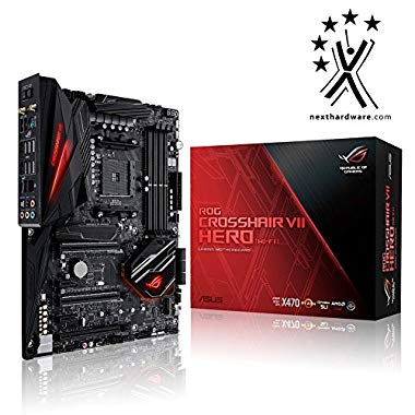 Asus ROG Crosshair VII Hero WI-FI Gaming Mainboard AM4 (Motherboard)