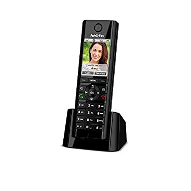 AVM FRITZ!Fon C5 DECT-Komforttelefon (schwarz,internationale Version)
