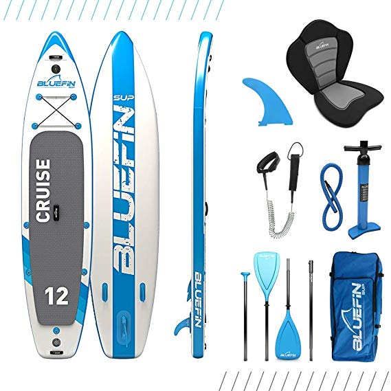 Bluefin Cruise 12' SUP Board Set