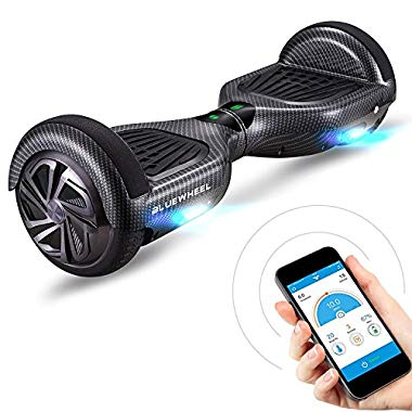 "Bluewheel HX310s 6.5"" Hoverboard Self Balance Scooter - Starker Dual Motor - LED (Carbon)"
