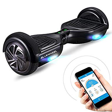 "Bluewheel HX310s 6.5"" Hoverboard Self Balance Scooter - Starker Dual Motor - LED (Black)"