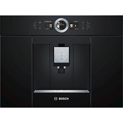 Bosch CTL636EB6 Einbau-Kaffee-Vollautomat mit Home Connect, schwarz
