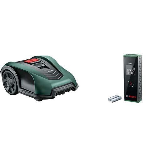 Bosch Rasenmäher Indego S+ 350 + Laser Entfernungsmesser Zamo (3. Generation,Messbereich: 0,15 - 20,00 m,Karton)