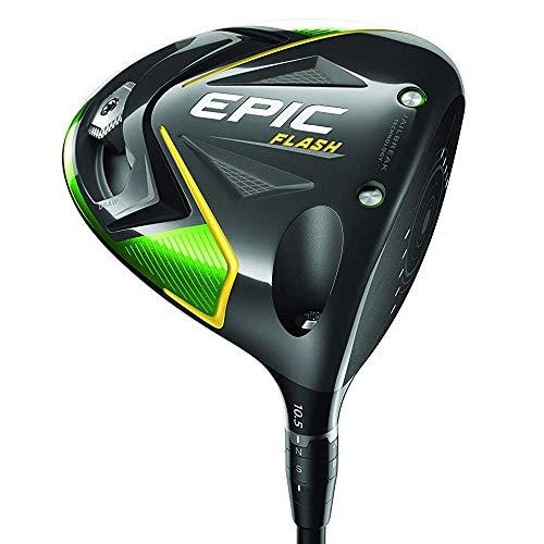 Callaway Golf 2019 Epic Flash Driver,Herren,Epic Flash Driver,schwarz (regulär, Project X Even Flow, grün, 50G, 10.5 Grad, Left Hand)