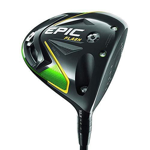 Callaway Golf 2019 Epic Flash Sub Zero Driver,Herren,Epic Flash SUB Zero Driver,schwarz (steif, Mitsubishi Tensei AV 60G, blau, 9 Grad, Left Hand)