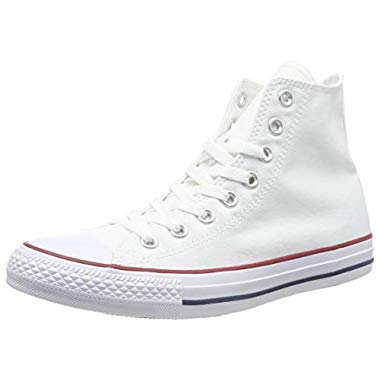 Converse Unisex-Erwachsene Chuck Taylor All Star Season Hi Sneaker,Weiß (Optical White),43 EU