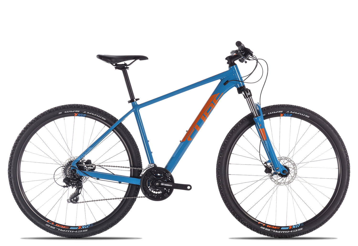 Cube Aim Pro 2019 17 Zoll | blue´n´orange | 29 Zoll