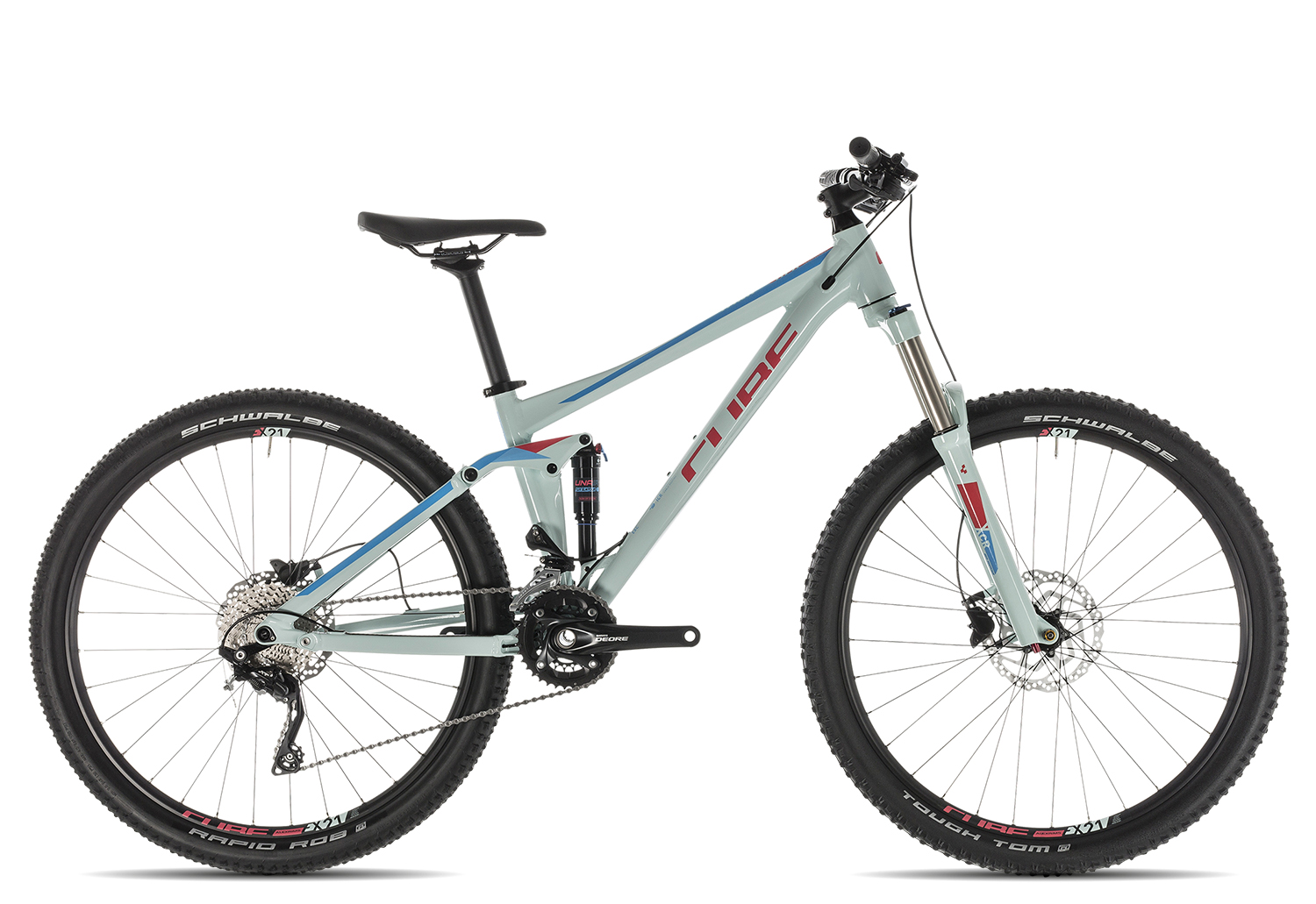 Cube Sting WS 120 EXC 2019 13.5 Zoll | lightblue´n´coral | 27.5 Zoll