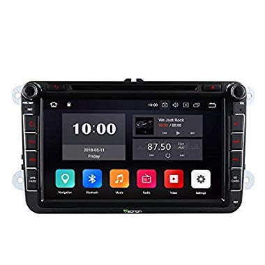 eonon Android 8 8 Zoll Autoradio CD DVD GPS fit for Polo Jetta Passat GA9153A