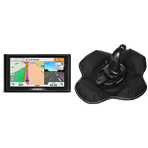 Garmin 010-01679-12 Drive 61 LMT-S EU Navigationsgerät - lebenslang Kartenupdates & Verkehrsinfos,Sicherheitspaket,6 Zoll & KFZ Halterung (tragbare Haftungshalterung)