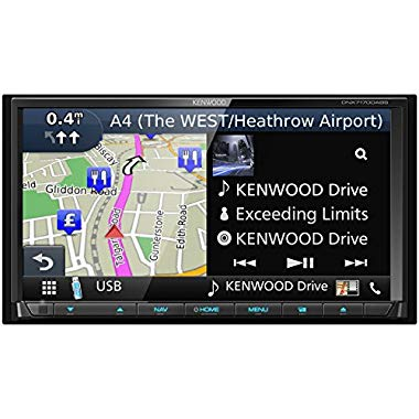 Kenwood DNX-7170DABS Navigationssystem mit Apple CarPlay, AndroidAuto