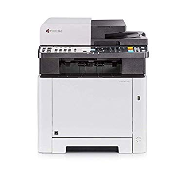Kyocera Ecosys M5521cdn Farblaser Multifunktionsdrucker. Drucker,Kopierer,Scanner,Faxgerät. Inkl. Mobile-Print-Funktion. Amazon Dash Replenishment-Kompatibel
