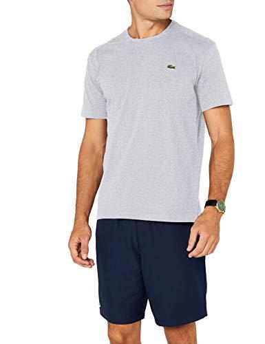 the best attitude e858f 3e50e Lacoste Sport Herren T-Shirt TH7618,Grau (Argent Chiné Cca),X-Large  (Herstellergröße: 6) Vergleichen Sie die Preise bei PriceX.de