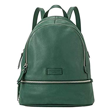 Liebeskind Berlin Damen Essential Lotta Backpack Rucksackhandtasche,Grün (Dark Green),11x32x26 cm