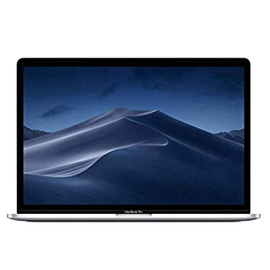 "Neues Apple MacBook Pro (15"",2,6 GHz 6-Core Intel Core i7 prozessor der 9. generation,256GB) - Silber"