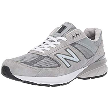 New Balance Men's 990v5 Sneaker (11, Grey)