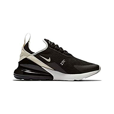 Nike Damen W Air Max 270 Leichtathletikschuhe,Mehrfarbig (Black Light Bone 010),37.5 EU
