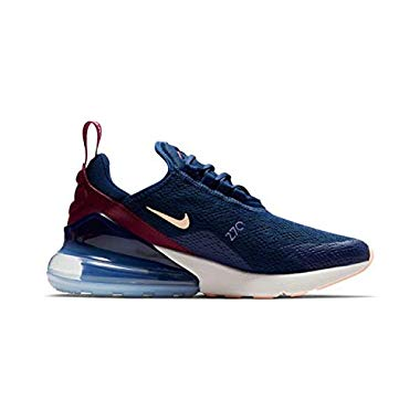 Nike Damen W Air Max 270 Leichtathletikschuhe,Mehrfarbig (Blue Void/Crimson Tint/True Berry 402),37.5 EU