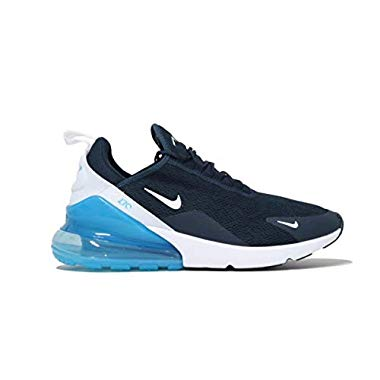 Nike Damen W Air Max 270 Leichtathletikschuhe,Mehrfarbig (Armory Navy Blue Force/White 403),38 EU