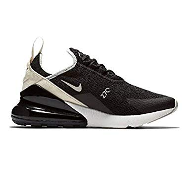 Nike Damen W Air Max 270 Leichtathletikschuhe,Mehrfarbig (Black Light Bone 010),38 EU