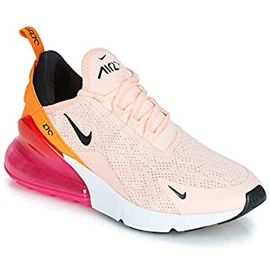 Nike Damen W Air Max 270 (Washed Coral/Black/Laser Fuchsia, 40 EU)