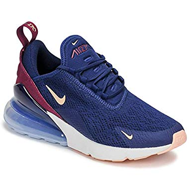 Nike Damen W Air Max 270 Leichtathletikschuhe,Mehrfarbig (Blue Void/Crimson Tint/True Berry 402),41 EU