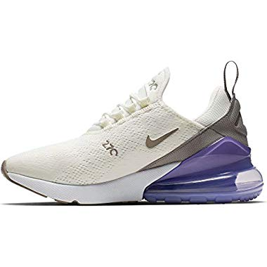 Nike Damen W Air Max 270 Leichtathletikschuhe,Mehrfarbig (Sail/Pumice/Space Purple/White 000),41 EU