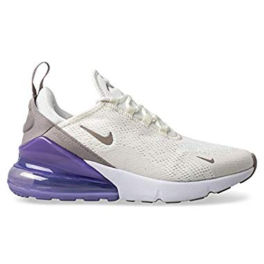Nike Damen W Air Max 270 Leichtathletikschuhe,Mehrfarbig (Sail/Pumice/Space Purple/White 000),42 EU