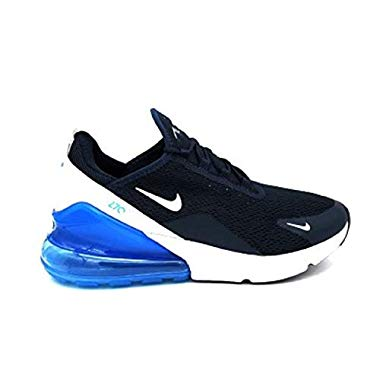 Nike Damen W Air Max 270 Leichtathletikschuhe,Mehrfarbig (Armory Navy Blue Force/White 403),44 EU