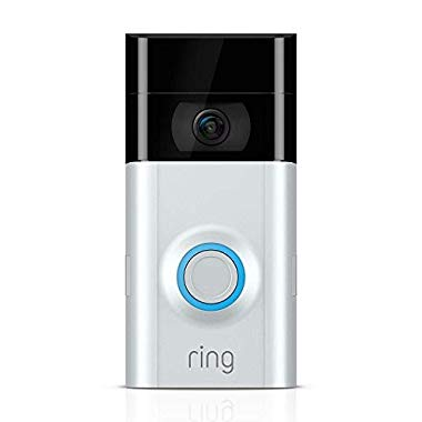 Ring Video Doorbell 2, Satin Nickel