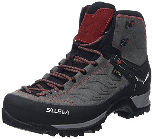 Salewa Ms Mtn Trainer Mid Gtx,Herren Trekking- & Wanderstiefel,Grau (Charcoal / Papavero 4720),42.5 EU