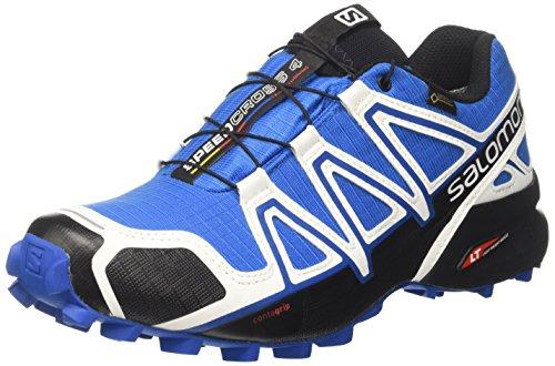Salomon Herren Speedcross 4 GTX Schuhe, Mehrfarbig (White Se