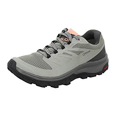 Salomon Outline GTX Women,6,5UK/40 EU,Shadow/urban chic/c. Almond