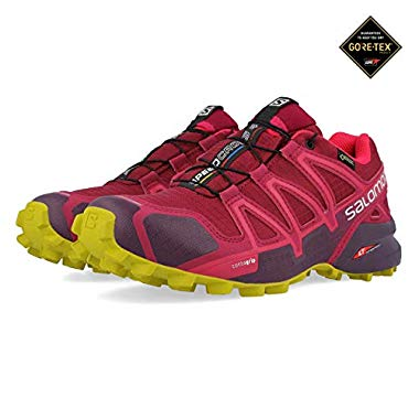 Salomon Speedcross 4 GTX W Beet RED/POTENT Purple/Citronelle - 7.5/41