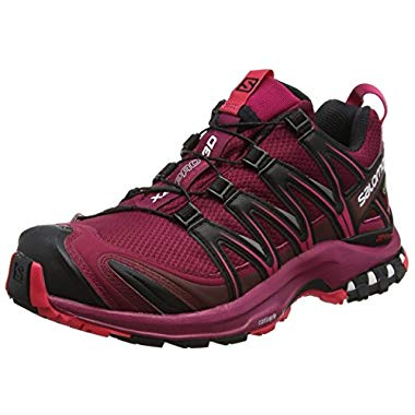Salomon Xa Pro 3d Gtx Damen Traillaufschuhe,Beet Red/Sangria/Black,42 2/3 EU