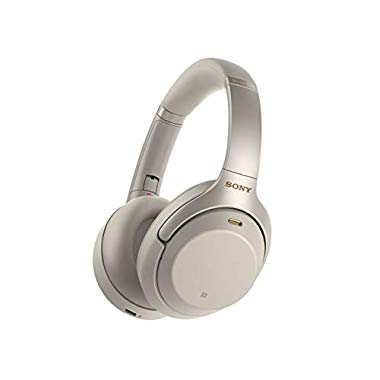Sony WH-1000XM3 Bluetooth Noise Cancelling Kopfhörer (silber)