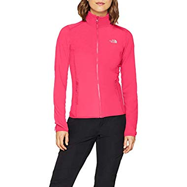 THE NORTH FACE Damen 100 Glacier Jacke,Atomic Pink,XS