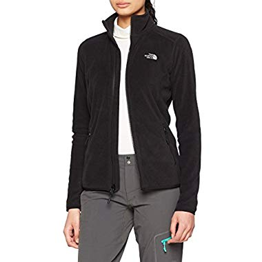 The North Face Jacke 100 Glacier (Damen, TNF Black, 44 Herstellergröße: Medium)