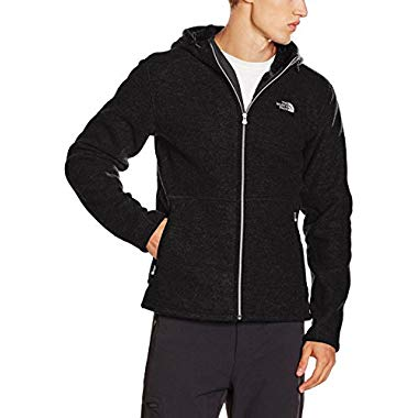 The North Face Herren Kapuzenjacke M Zermatt,schwarz-tnfblackblckhtr,L (Tnf Black Black Heather)