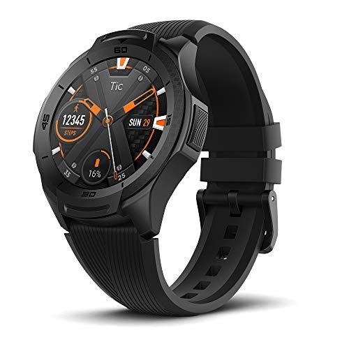 Ticwatch Mobvoi S2 Wear OS von Google Fitness Smartwatch (Midnight)