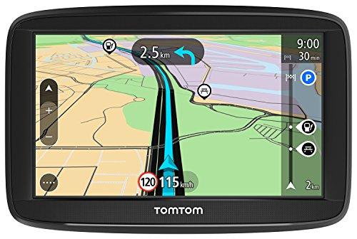 TomTom Start 52 Pkw-Navi (5 Zoll,mit Lebenslang EU-Karten,resistivem Display)