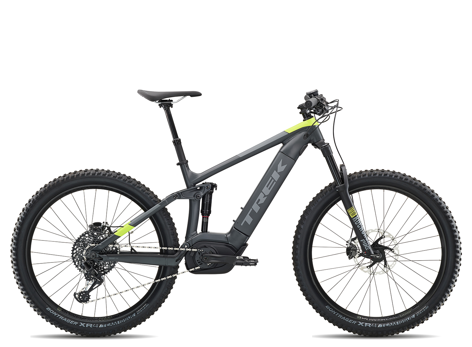 Trek Powerfly FS 9 2019 | 19.5 Zoll | Matte Solid Charcoal