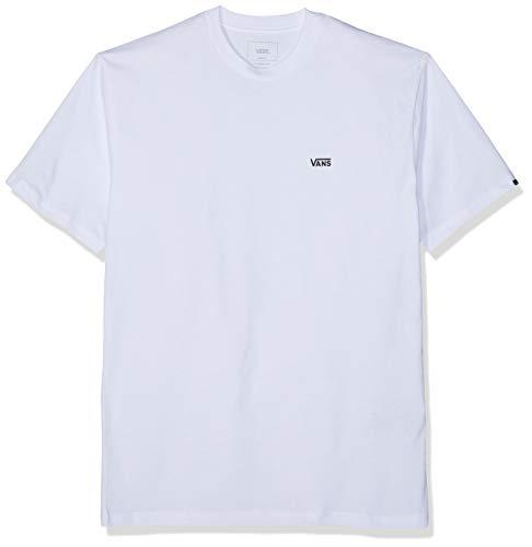 Vans Herren Left Chest Logo Tee T Shirt,Weiß (White Black Yb),Large Vergleichen Sie die Preise bei